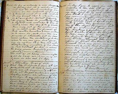 Diario antiguo