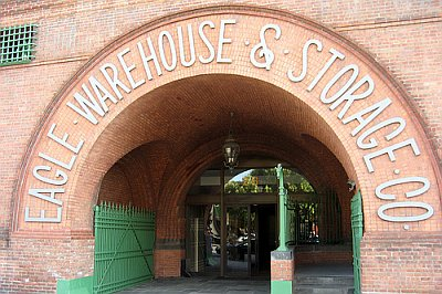 warehouse arch